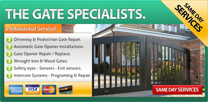 Gate repair Perris CA